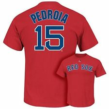 (2017) Boston Red Sox DUSTIN PEDROIA mlb Jersey Shirt ADULT MENS/MEN'S (xl)