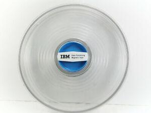 "Vintage  IBM Data Processing Magnetic tape Reel  CASE 10 1/2""  plastic empty"