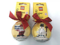 NEW Lego 853670 & 850850 Christmas Holiday Baubles Santa & Snow Man Tree