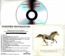 TURNPIKE TROUBADOURS A Long Way From Your Heart 2017 UK 11-trk promo test CD