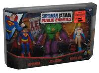 DC Comics Superman Batman Public Enemies Series 3-Pack Figure Set