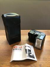 PENTAX FLASH AF 400 FTZ + case + instructions