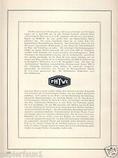 Physique atelier Phywe Göttingen Publicité 1924 Leimbach mondiales AD