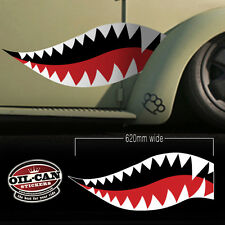 military look teeth decals, mil spec, rat look, hood ride high quality laminated