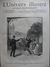 UNIVERS ILL 1889 N 1807 THEATRE: LA LUTTE POUR LA VIE
