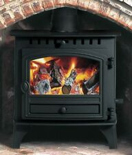 Hunter Herald 5 Slimline Flat Top Stove New Multi Fuel Wood Burning