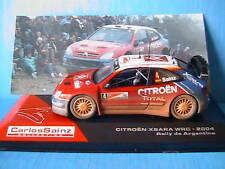 CITROEN XSARA WRC 2004 RALLYE ARGENTINE IXO CARLOS SAINZ 1/43 ARGENTINA MARTI