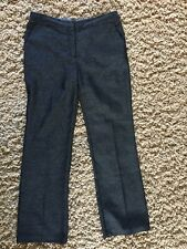 Next Smart Patterned Trousers Size 10R Office Workwear