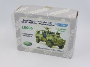Accurate Armour LR006 Land Rover Defender XD Wolf W.M.I.K. 1:35 Resin Kit