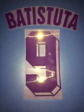 Fiorentina kit Batistuta flock Nameset maglia calcio fila