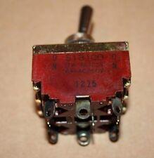 F.S.K FSK 3PDT Toggle Switch ON-ON ST310D 10A AC125V 6A AC250V New Old Stock
