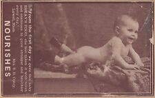Victorian Trade Card-Eskay's Food-Philadelphia, PA-Real Photo of Baby