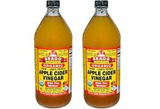 Bragg Usda Organic xcoeK Raw Apple Cider Vinegar, 32 Fluid Ounce (2 Pack)