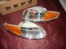 1994 1997 Chrysler LHS Park Turn Lamp Light Left Right Pair Marker