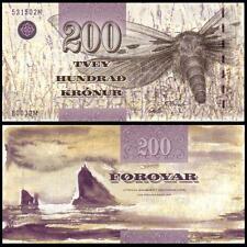 Faeroe Faroe Islands 200 Kronur, 2003, P-26, UNC