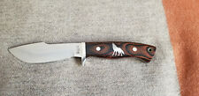 Japanese Made RIGID RG-74 Hunting Knife w/ Sheath  RARE INLAY