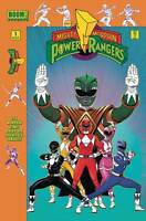 MIGHTY MORPHIN POWER RANGERS #1 Launch Party Variant Cover