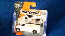 "Matchbox (UK Card) - 2018 - #69 Ford Panel Van - White ""Speedy X-Press"""