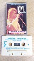 David Bowie cassette Tape The Collection CCSMC 118, castle 20 tracks vtg retro