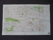 Landkarte Polen, Meßtischblatt 144.4 Opatów, Woiwodschaft Tarnobrzeskie, 1995