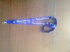 Parachutisme parapente lanyard sangle de cou téléphone portable touches pass holder