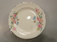 VINTAGE Crown Potteries Co. SET OF 5 BREAD BUTTER PLATES Made in USA dated 2/51