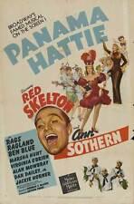 PANAMA HATTIE Movie POSTER 27x40 Red Skelton Ann Sothern Rags Ragland Ben Blue