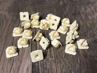 """Trim etc.- 1-1//4/"""" Long- 8 pcs- #037 Grille GM Nylon Spacer Nuts- Bezel"""