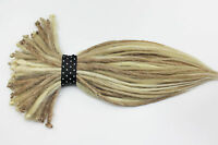 Mix Blonde Synthetic Dreadlocks Extension Single or Double Ended Dread 20 Inches