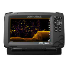 Lowrance 000-15515-001 Hook Reveal 7X Fishfinder Tripleshot Transom Mount