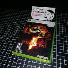 (REPLACEMENT CASE ONLY) RESIDENT EVIL 5 XBOX 360 (NO GAME INCLUDED) WEAR/STICKER