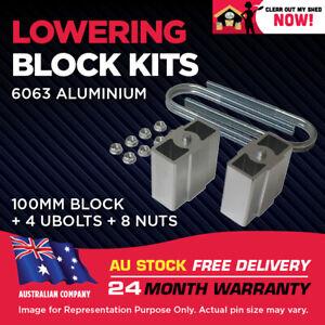 "Lowering Blocks Kit Ford Fairmont V8 XB XC XE XF 4"" (100mm) 1966 -1988"