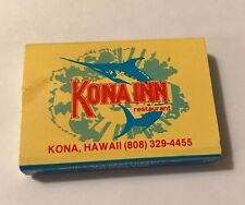 KONA INN and WIND & SEA Restaurant Two Sided Wood Matches *FULL & UNSTRUCK*