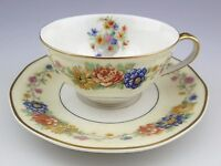 RARE Theodore Haviland Limoges Azay Le Rideau Teacup and Saucer