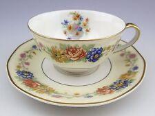 RARE Theodore Haviland Limoges Azay Le Rideau Teacup and Saucer