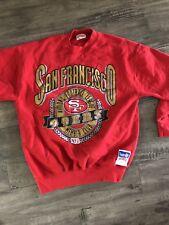Vintage NFL San Francisco 49ers Crewneck Sweatshirt Size Large