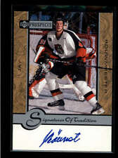 JAY BOUWMEESTER 1999/00 99/00 UD TOP PROSPECTS ON CARD AUTOGRAPH AUTO AB7694