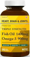 Carbamide Forte Triple Strength Fish Oil 1400mg Omega3 900mg 90Softgel Free Ship