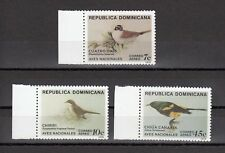 TIMBRE STAMP 3 DOMINICAINE Y&T#347-49 OISEAU BIRD NEUF**/MNH-MINT 1979 ~B12