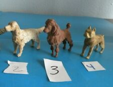 Marx Pet Shop Vintage Dog Rubber Irish Setter Poodle boxer 3 style Pick 1 J19J21