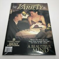 Variety Magazine Large 11x14 - A Beautiful Mind - 2002