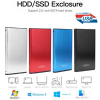 2.5 inch HDD SSD USB 3.0 Hard Disk Drive Case External Enclosure Box for Laptop