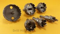 Drill Hog Carbide HoleSaw Hole Cutter TcT Metal Hole Saw Forstner Bit Tungsten