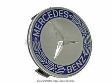 Mercedes (2002+) w204 w209 w211 Royal Blue Alloy Wheel Center Hub Cap OEM +WARR