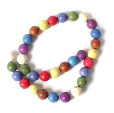Chaîne De 12 M Multi couleur turquoise Nacres Perles pour Fabrication de Bijoux T44BS