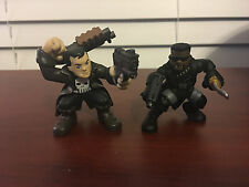 MARVEL SUPER HERO SQUAD PUNISHER & BLADE LOOSE 2 PACK