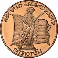 1 oz Copper Round - Patriot