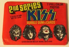 KISS DONRUSS SERIES II SEALED PACK 1978 AUCOIN