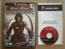 Video Game Nintendo Gamecube Prince Of Persia Warrior Within
