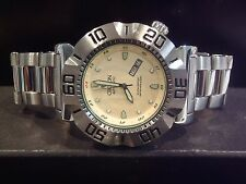 Croton Vortex Men's Automatic Watch W/ Pineapple Dial Rare CR8205